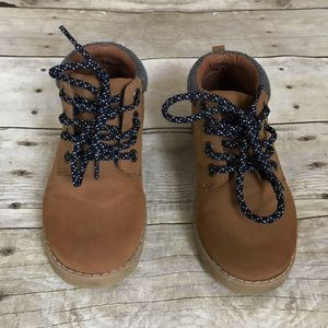 Gymboree Toddler Boy Size 10 Tan Boots